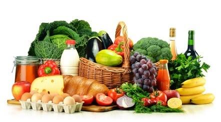 Lebensmittel mit vielen Ballaststoffen