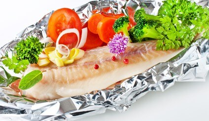 Fisch - Alufolie