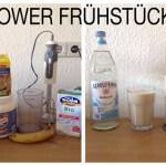 Gesundes Power Frühstück klein