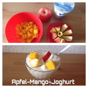 Apfel-Mango-Joghurt