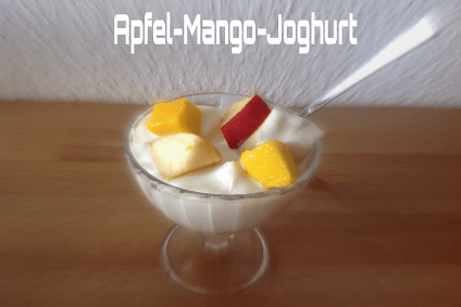 Apfel Mango Joghurt Vorschau