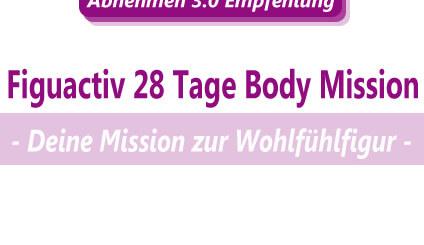 Abnehmen mit der Figuactiv 28 Tage Body Mission