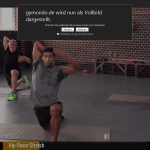 Gymondo Workout Vollbildmodus PC