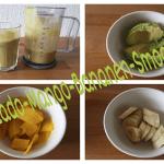Avocado Mango Bananen Smoothie