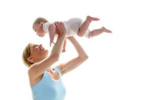 Fit und schlank nach der Schwangerschaft