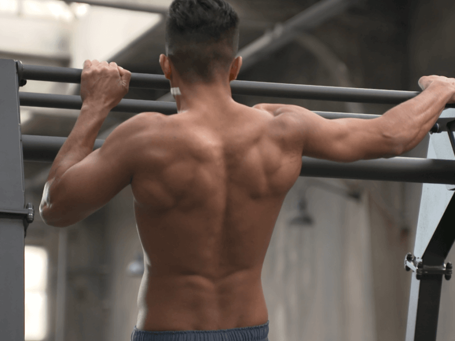 Calitary Training Archer Pullup