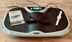 Miweba Sports Vibrationsplatte MV300 4D Wave Grosse Trittfläche